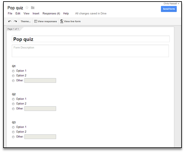 Blended Learning Techniques: Using Google Forms for in-class ...