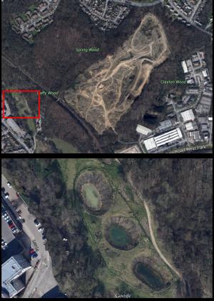 Woodside Quarry mitigation ponds