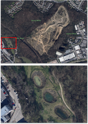 Woodside Quarry mitigation ponds