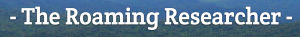 Roaming Researcher Logo